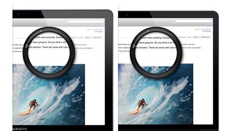 Retina Display apple macbook pro with retina display features