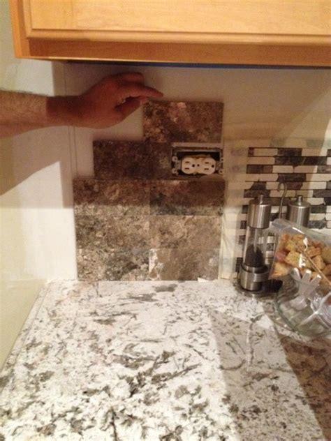 Kitchen Subway Tile Backsplash Pictures back splash for bianco antico granite