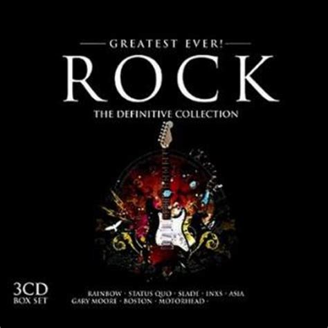 Cd Import Eurogliders Absolutely Pop Rock Collection greatest rock the definitive collection 3 cd pop rock cd album achat prix fnac
