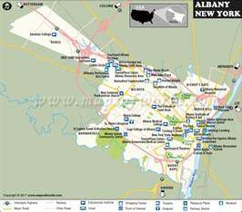 Albany New York Map by Albany Map Albany New York Map Capital Of New York