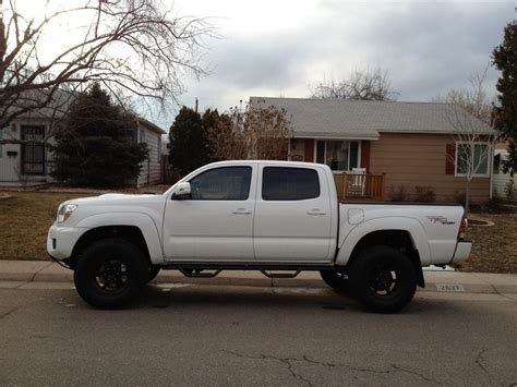Cement Factory by White Tacoma Trd Sport Black Or Chrome Wheels Tacoma World