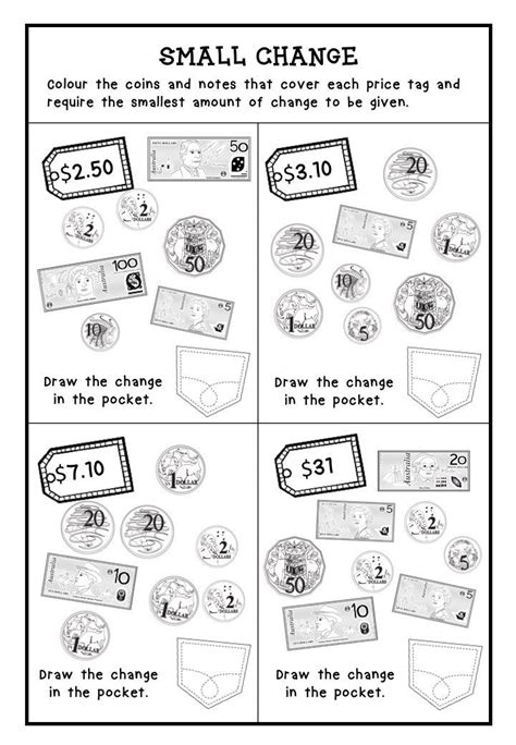 australian money worksheets australian money worksheets higher order thinking hots