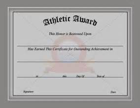 athletic certificate template sports certificate template sports certificate templates