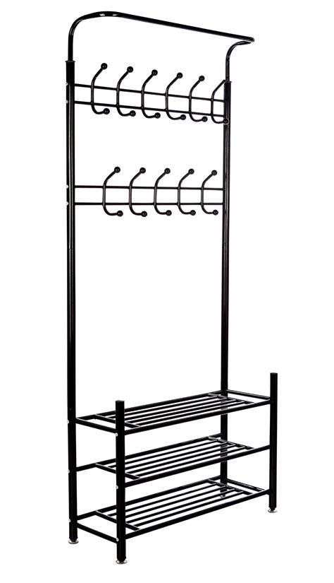 mspremium metal coat rack  shoe organizer