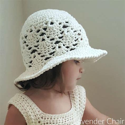 crochet pattern vintage hat vintage sun hat infant child crochet pattern the