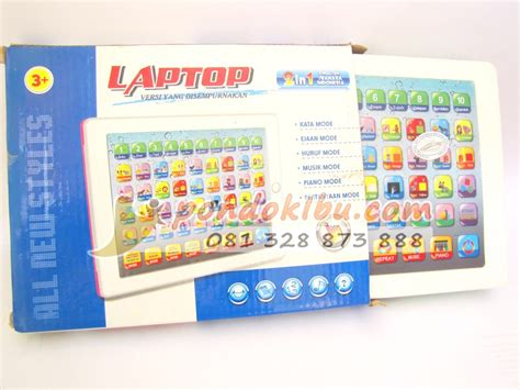 Mainan Edukasi Laptop Anak 2bahasa laptop mainan anak 2 bahasa
