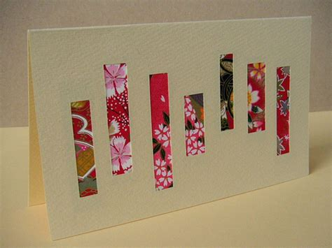 Handmade Greeting Cards With Photos - 2009 new year handmade greeting cards a crafty tree