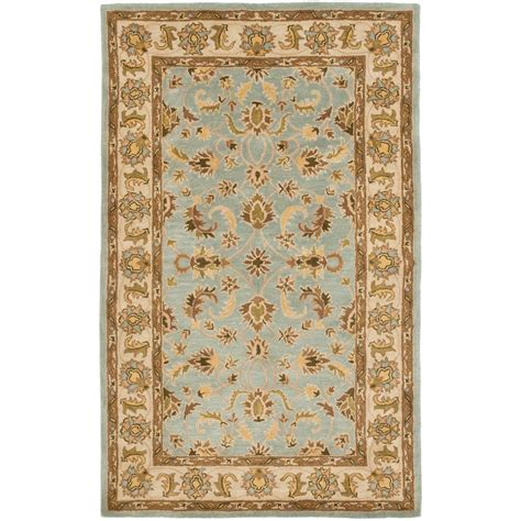 Safavieh Heritage Rug by Safavieh Heritage Light Blue Beige 6 Ft X 9 Ft Area Rug