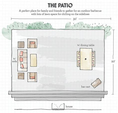 patio furniture lay outs a designer s guide to creating your dream outdoor space