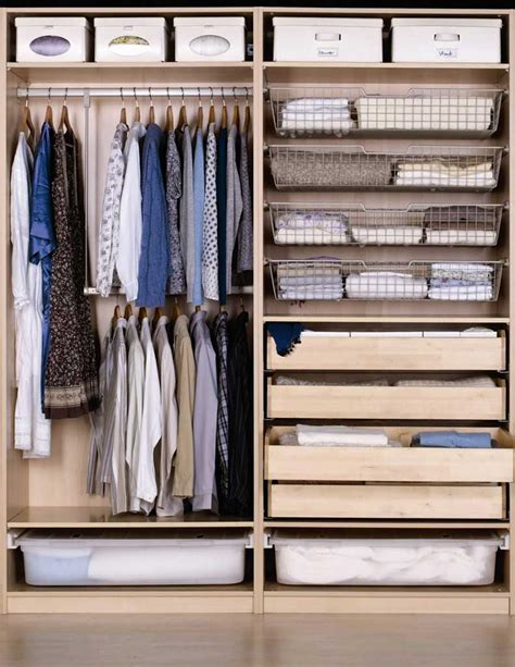 ikea wardrobe storage ideas 9 tips para guardar tu ropa de invierno cut paste
