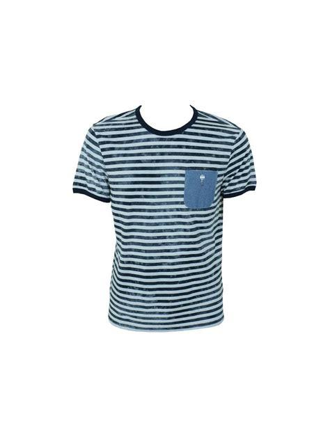 Gio Shirt gio goi escalibor stripe t shirt white navy gio goi from northern threads uk