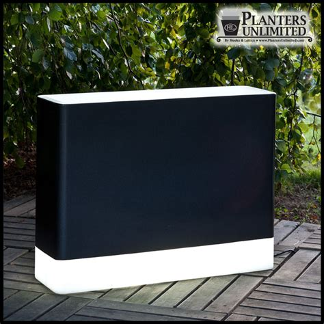rectangular light up planters clear planters acrylic