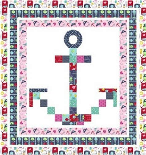 quilt pattern anchor quilt inspiration free pattern day sailboats