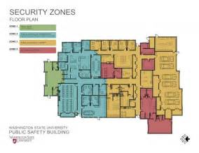 Public Building Floor Plans washington state university campus police department