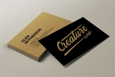 on business card business cards