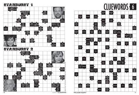 printable arrow sudoku cluewords magazine arrow words fun lovatts crosswords