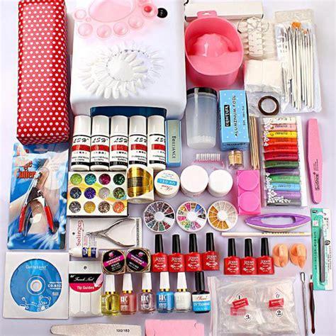Nail Kit by New Pro Acrylic Nail Kit 36w Uv Gel L Uv Gel Nail