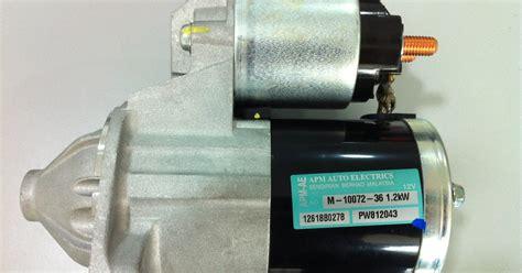 Spare Part Proton Saga Blm 1111 Proton Blm Starter