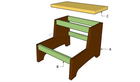 how to build a step stool howtospecialist how to build