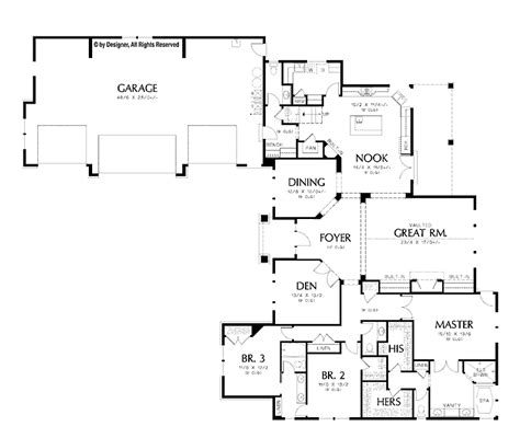 floor l l shaped garage floor plans