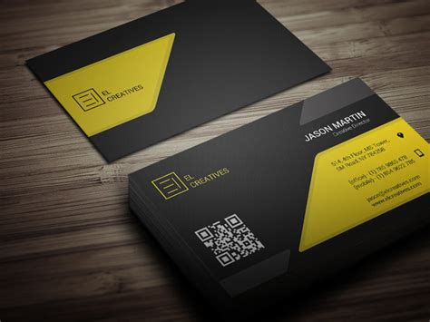yellow business card template free creative yellow business card business card templates on
