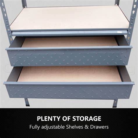 heavy duty storage cabinets with drawers shelves workshop heavy duty shelving racking storage