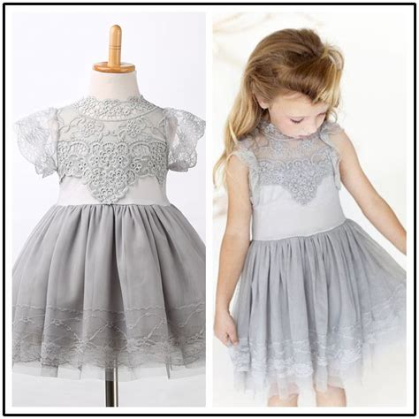 Baby Lovely Lace Dress lovely baby princess wedding lace floral tulle tutu dresses s gown