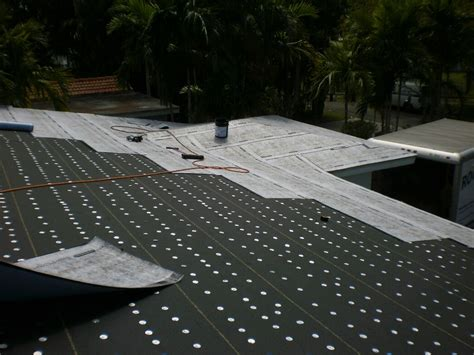 Roof Underlayment Metal Roof Underlayment Roofing Miami Style Projects