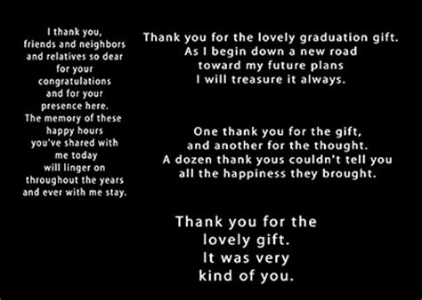 Thank You Note Quotes For Graduation Thank You Graduation Quotes Quotesgram