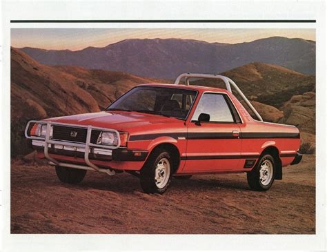subaru brat rally can mercedes new x class avoid the pickup truck hall of