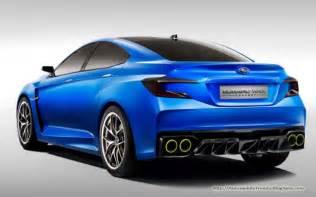 Subaru W Rx Automobile Trendz 2014 Subaru Impreza Wrx Concept 6