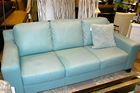Baby Blue Leather Sofa by Baby Blue Leather Sofa Sofa Menzilperde Net
