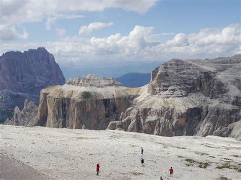 terrazza delle dolomiti panorama foto di la terrazza delle dolomiti canazei