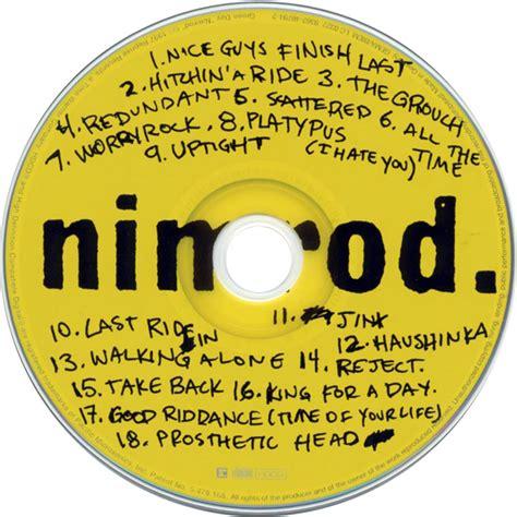 Green Day Nimrod Cd green day nimrod hdcd with more dynamic range greenday
