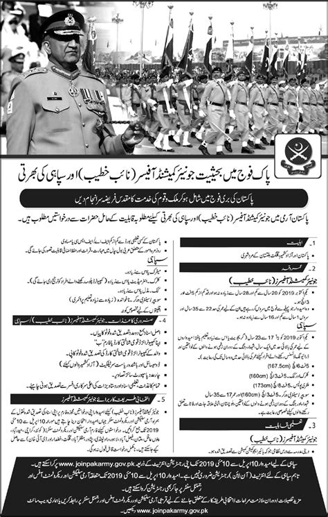 Join Pakistan Army As Commissioned Officer 2019 Online