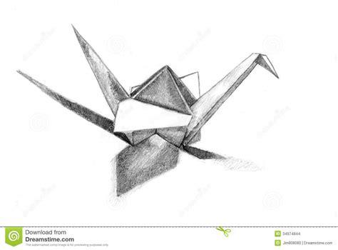 Origami Crane Drawing - paper cranes drawing www pixshark images galleries