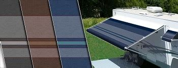 repair rv awning fabric carefree premium vinyl replacement rv awning fabrics