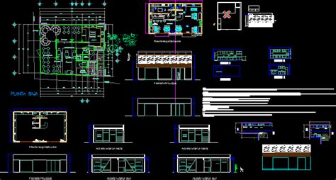sushi restaurant dwg section  autocad designs cad