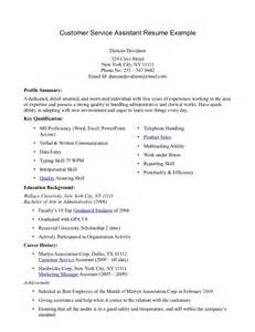 Profile Exle On Resume by Accounts Assistant Resume Sales Assistant Lewesmr