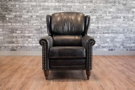 furniture leather recliners the recliner wingback leather chair canada s