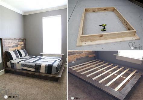 simple platform bed easy diy platform bed free plan home design garden architecture blog magazine