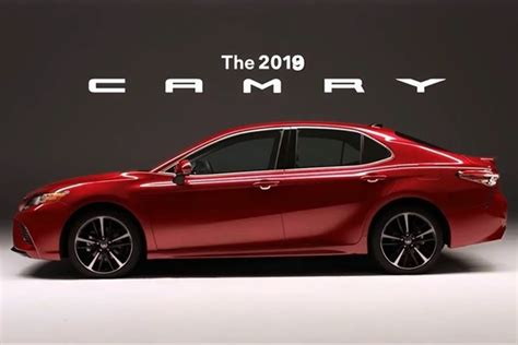 2019 All Toyota Camry by By Pradeep Shah Updated October 30 2018 11 04 Am