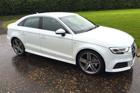 Audi A3 Saloon S Line Black by 2016 Audi A3 Saloon S Line 002 Engagesportmode