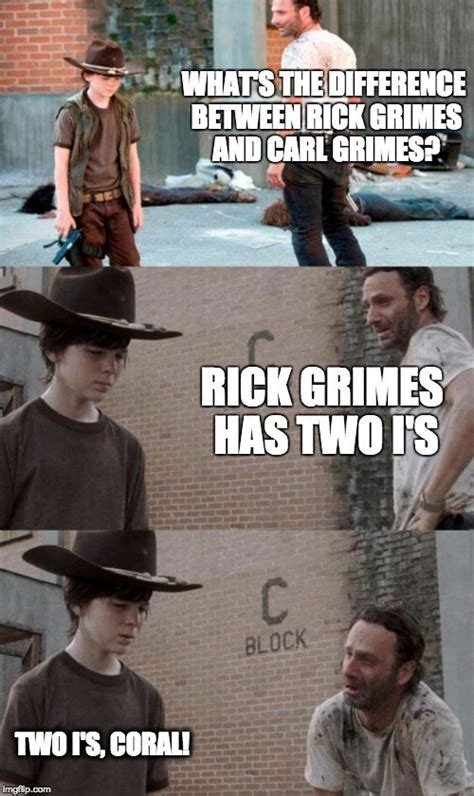 Coral Meme - the walking dead memes coral www pixshark com images