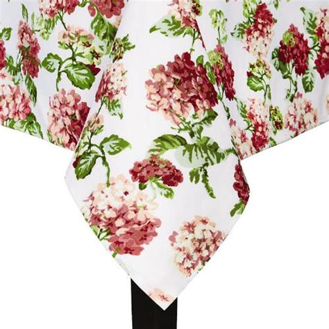 google christmas tree shop kitchen table runners not xmas waverly 174 pink floral tablecloth tree shops andthat