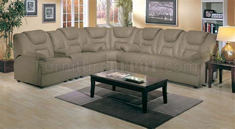 4 5000 Home Theater Sectional Sofa W Pull Out Bed By Acme Home Theatre Sectional Sofa