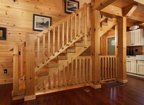 country chic log home  timberhaven log timber homes