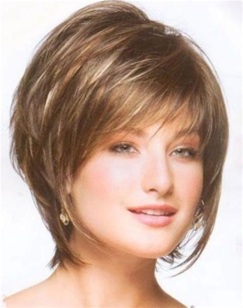 fine thin hairstyles for women layered and with round face short hairstyles for fine hair