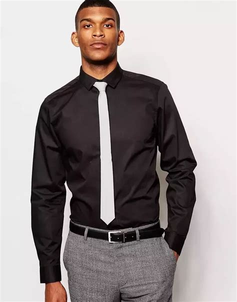 what color tie to wear to an what colour tie should i wear with a black shirt quora