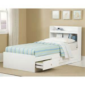 new visions by storage bed with headboard white